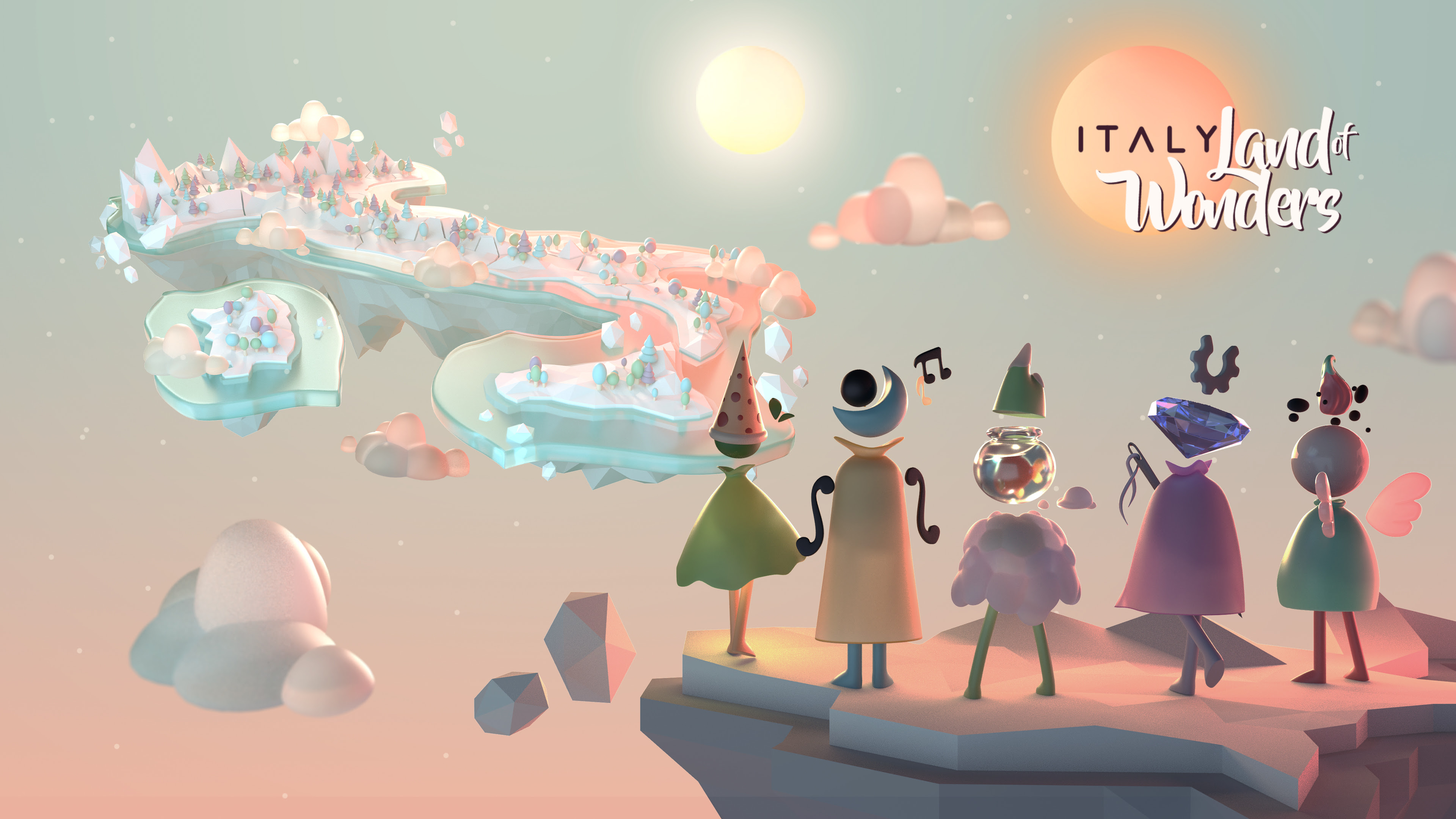 MFA | ITALY. Land of Wonders já está disponível para celulares