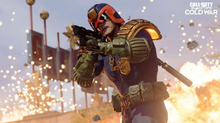 Activision | Juiz Dredd chega oficialmente em Call of Duty: Black Ops Cold War e Warzone