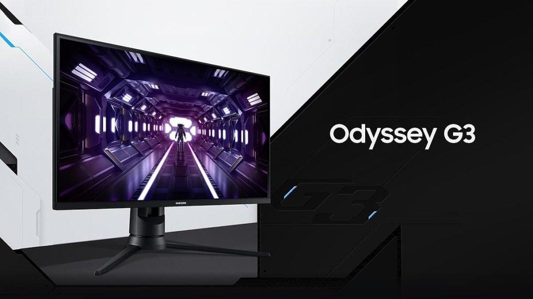 Samsung | Odyssey G3 é o novo monitor game anunciado no Brasil
